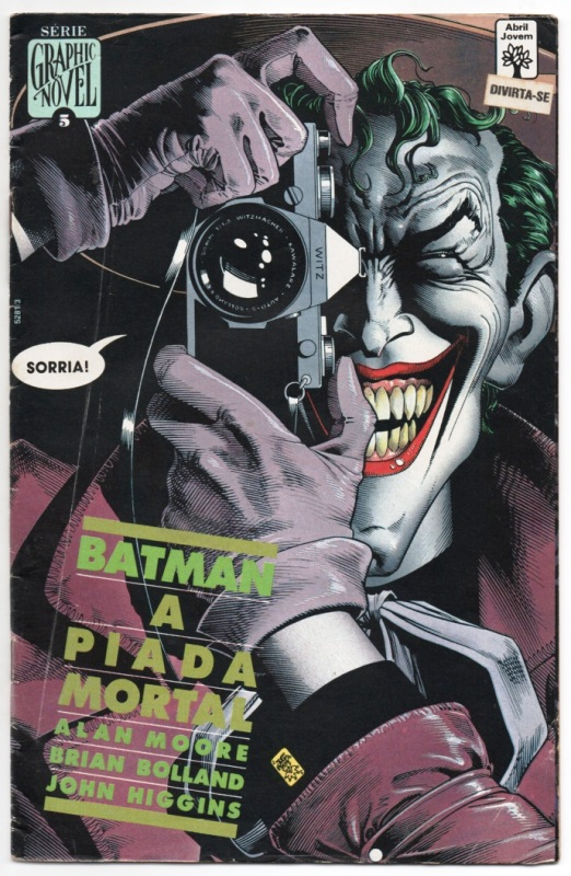 GRAPHIC NOVEL nº05 - BATMAN A PIADA MORTAL - ED. ABRIL