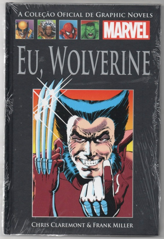 GRAPHIC NOVELS MARVEL nº04 - EU WOLVERINE - SALVAT