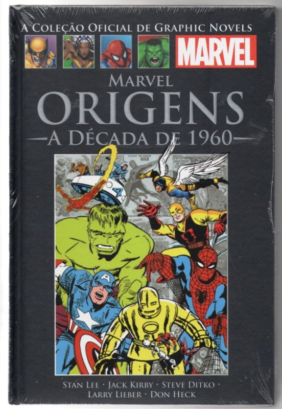 GRAPHIC NOVELS MARVEL CLÁSSICOS nº01 - VINGADORES SECRETOS - SAL