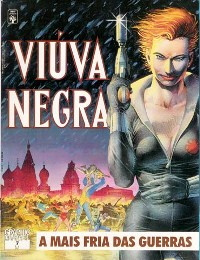 GRAPHIC MARVEL nº07 - VIÚVA NEGRA - ED. ABRIL