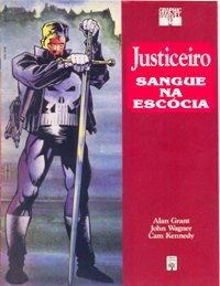 GRAPHIC MARVEL nº13 - JUSTICEIRO - SANGUE NA ESCÓCIA - ED. ABRIL