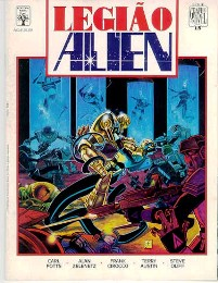 GRAPHIC NOVEL nº15 - LEGIÃO ALIEN - ED. ABRIL