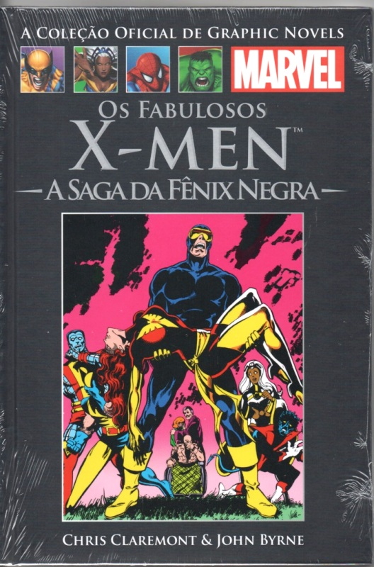 GRAPHIC NOVELS MARVEL nº02 - X-MEN - SAGA DA FÊNIX NEGRA