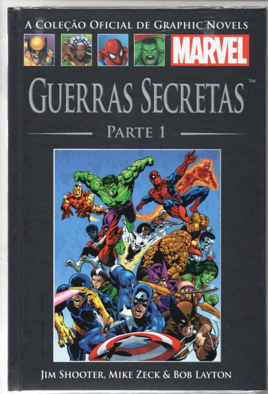 GRAPHIC NOVELS MARVEL nº06 - GUERRAS SECRETAS - PARTE 01