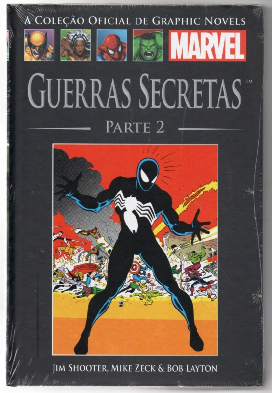 GRAPHIC NOVELS MARVEL nº07 - GUERRAS SECRETAS - PARTE 02 - SALVA