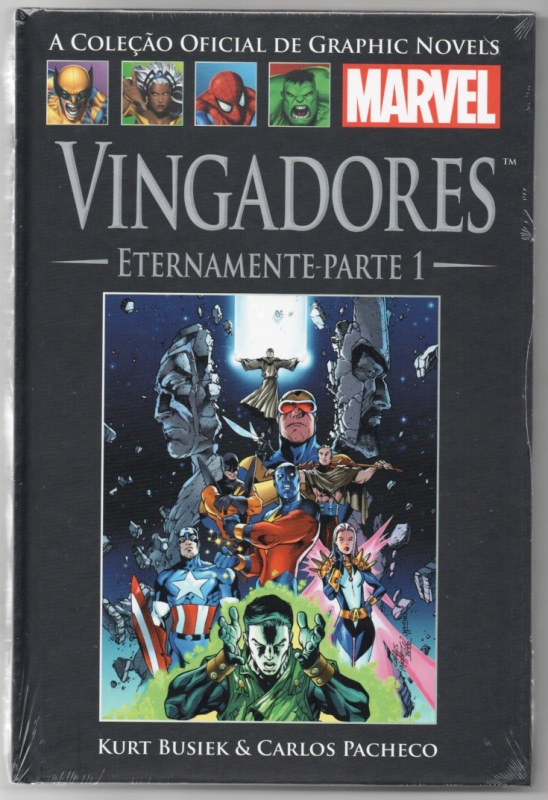 GRAPHIC NOVELS MARVEL nº14 - VINGADORES - ETERNAMENTE 01 - SALVA