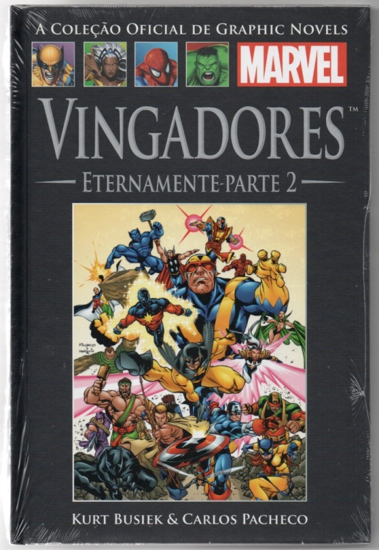 GRAPHIC NOVELS MARVEL nº15 - VINGADORES - ETERNAMENTE 02 - SALVA