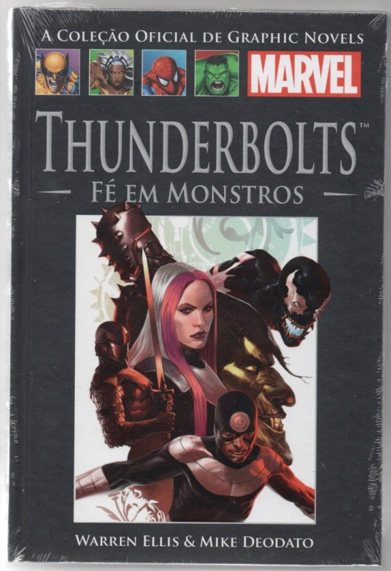 GRAPHIC NOVELS MARVEL nº57 - THUNDERBOLTS - FÉ EM MONSTROS