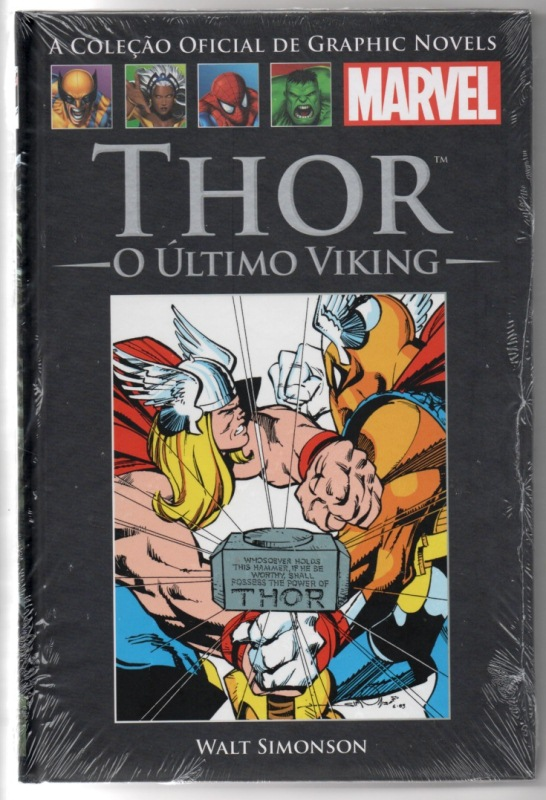 GRAPHIC NOVELS MARVEL nº05 - THOR O ÚLTIMO VIKING - SALVAT