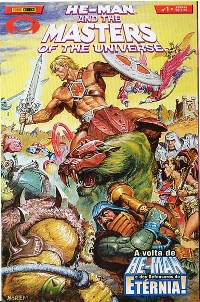 HE-MAN END THE MASTERS OF THE UNIVERSE n°01 - EDITORA PANINI