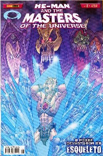 HE-MAN END THE MASTERS OF THE UNIVERSE n°02 - EDITORA PANINI