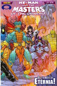 HE-MAN END THE MASTERS OF THE UNIVERSE n°03 - EDITORA PANINI