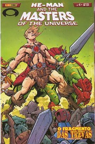 HE-MAN END THE MASTERS OF THE UNIVERSE n°04 - EDITORA PANINI