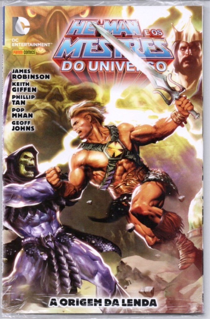 HE-MAN END THE MASTERS OF THE UNIVERSE - ENCADERNADA - PANINI