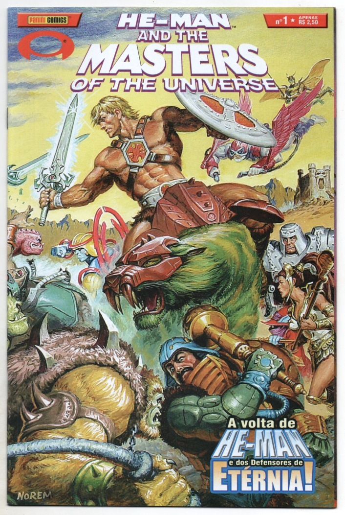 HE-MAN AND THE MASTERS OF THE UNIVERSE n°01 - EDITORA PANINI