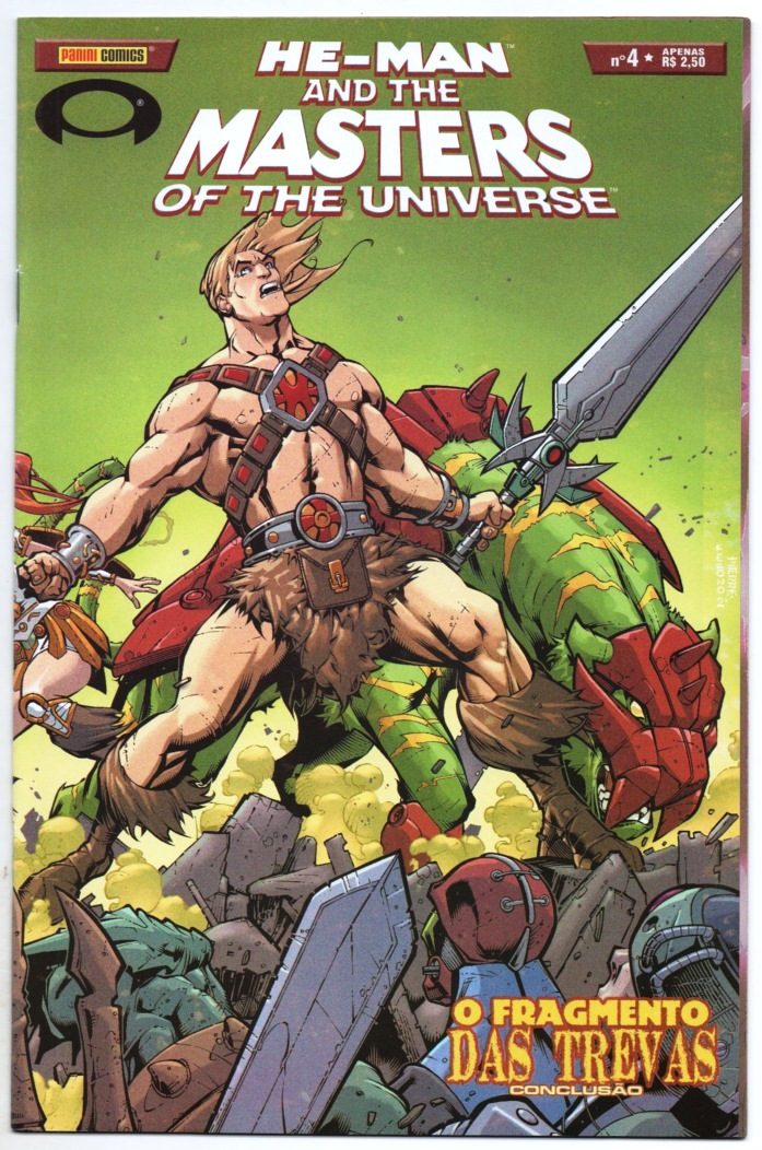 HE-MAN AND THE MASTERS OF THE UNIVERSE n°04 - EDITORA PANINI