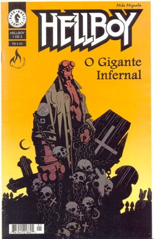 HELLBOY - O GIGANTE INFERNAL - PARTE 1 - MYTHOS