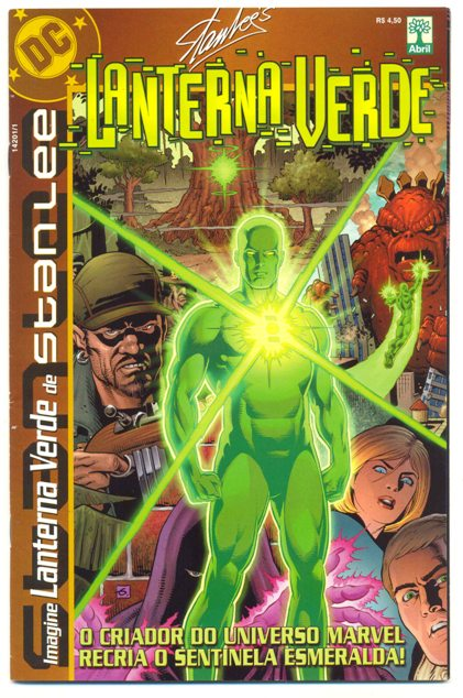 IMAGINE LANTERNA VERDE DE STAN LEE - EDITORA ABRIL
