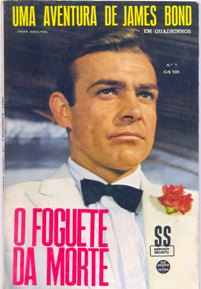 JAMES BOND nº07 - EDITORA RGE