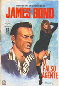 JAMES BOND nº15 - EDITORA RGE