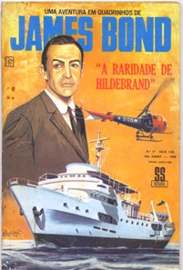 JAMES BOND nº17 - EDITORA RGE