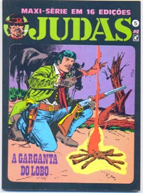 JUDAS nº05 - A GARGANTA DO LOBO - ED. RECORD