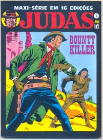 JUDAS nº07 - BOUNTY KILLER - ED. RECORD