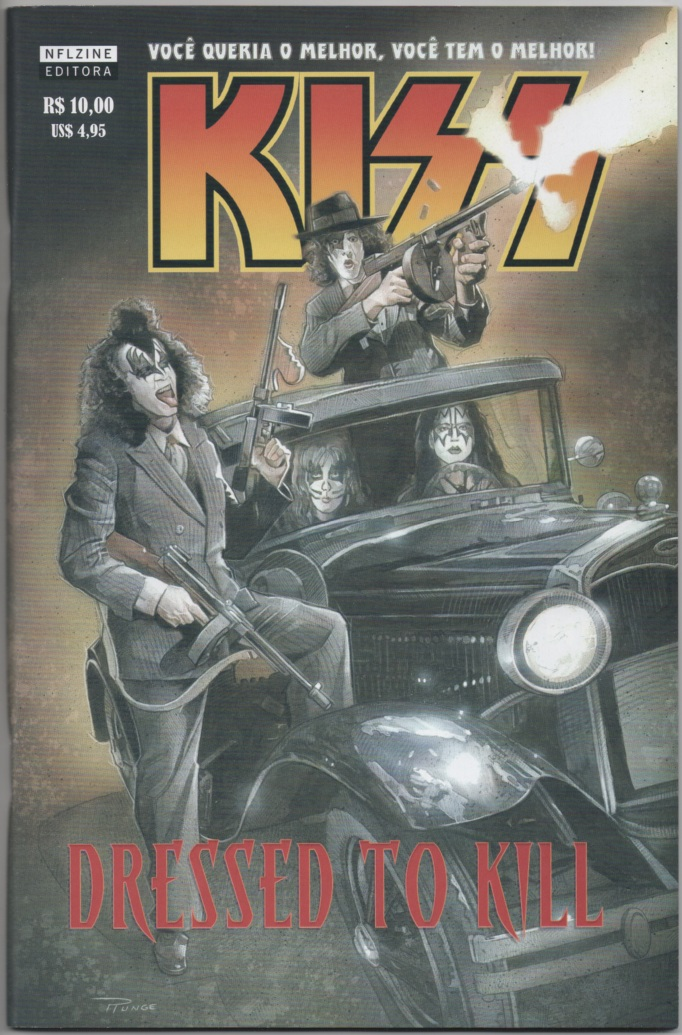 KISS DRESSED TO KILL - EDITORA NFL COMICS