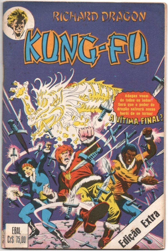 RICHARD DRAGON KUNG FU - EBAL