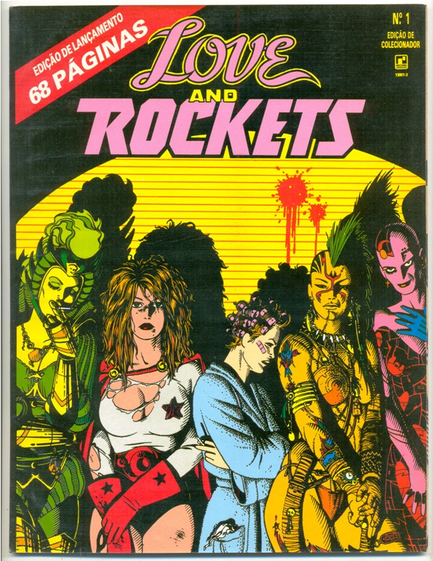 LOVE AND ROCKETS nº01 - EDITORA RECORD