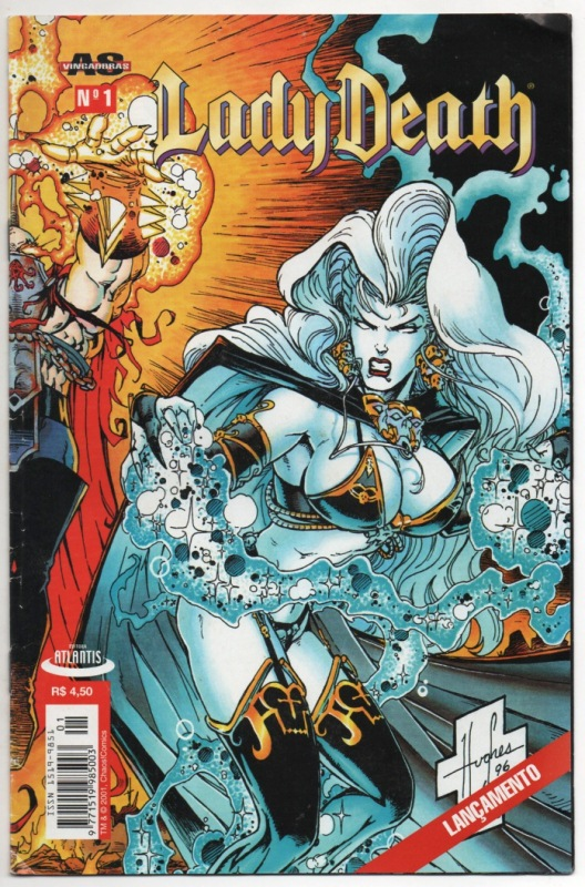 LADY DEATH nº01- EDITORA ATLANTIS