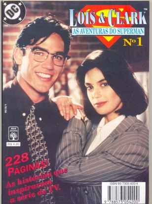 LOIS & CLARK - AS AVENTURAS DO SUPERMAN nº01 - ED. ABRIL