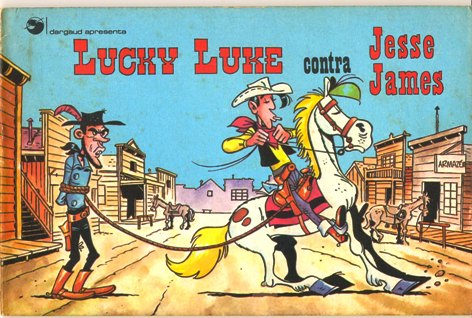 LUCKY LUKE CONTRA JESSE JAMES - ED. RGE