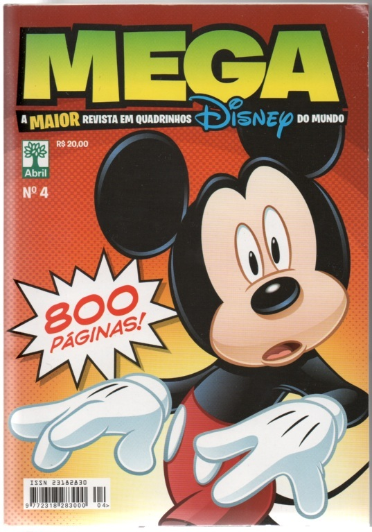 MEGA DISNEY nº04 - ED. ABRIL