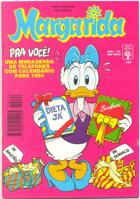 MARGARIDA nº192 - REVISTA DA EDITORA ABRIL