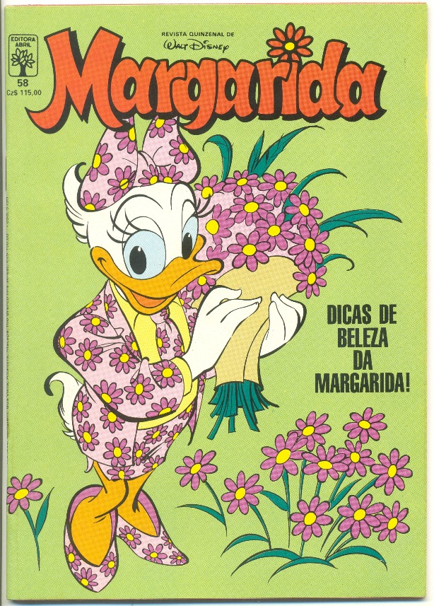 MARGARIDA nº058 - REVISTA DA EDITORA ABRIL