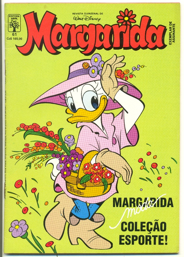 MARGARIDA nº061 - REVISTA DA EDITORA ABRIL