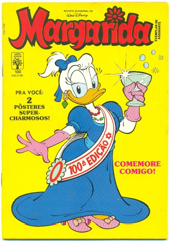 MARGARIDA nº100 - REVISTA DA EDITORA ABRIL