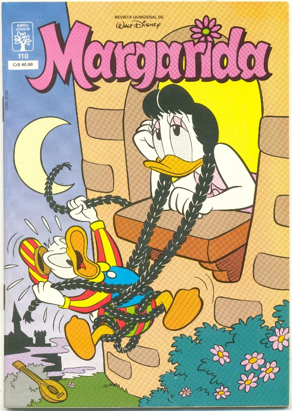 MARGARIDA nº110 - REVISTA DA EDITORA ABRIL