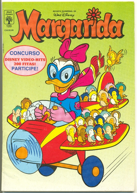 MARGARIDA nº120 - REVISTA DA EDITORA ABRIL
