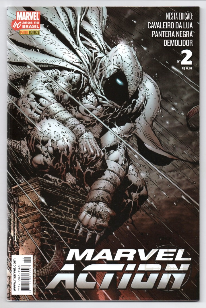 MARVEL ACTION nº002 - EDITORA PANINI
