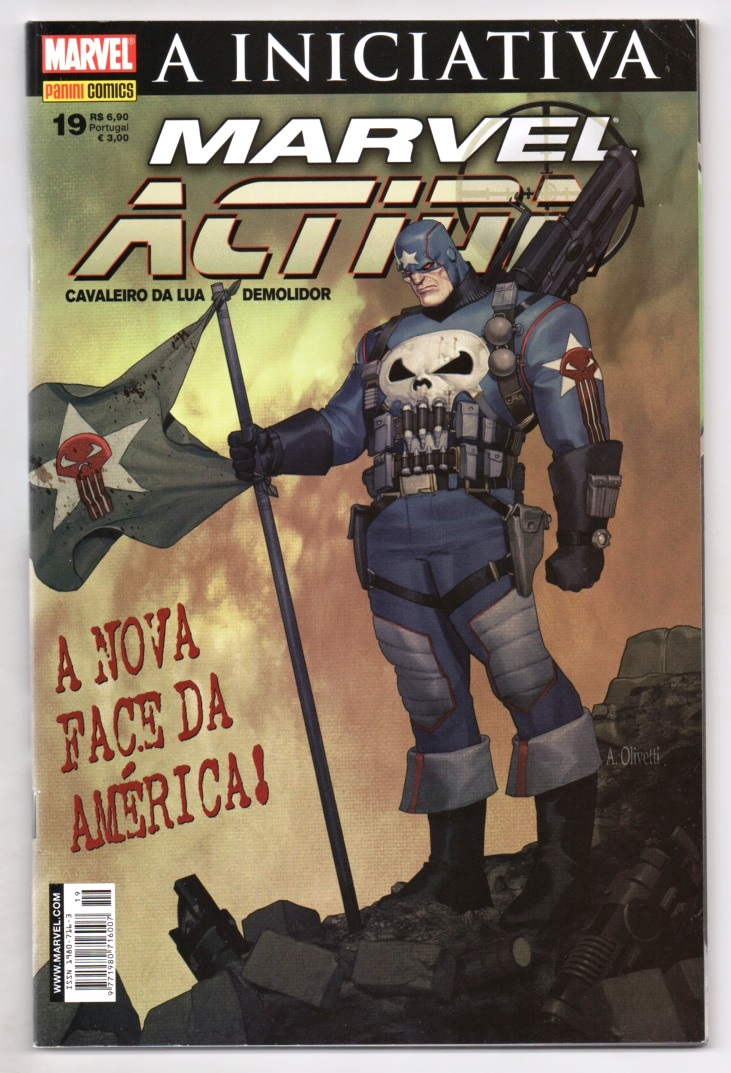 MARVEL ACTION nº019 - EDITORA PANINI