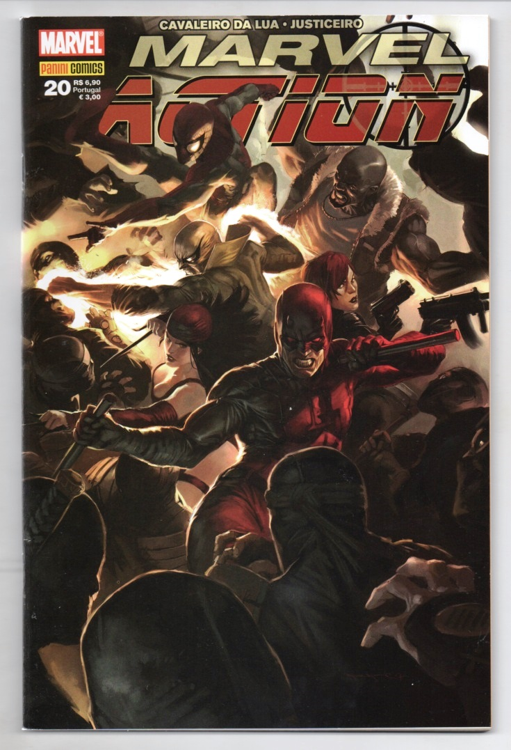 MARVEL ACTION nº020 - EDITORA PANINI