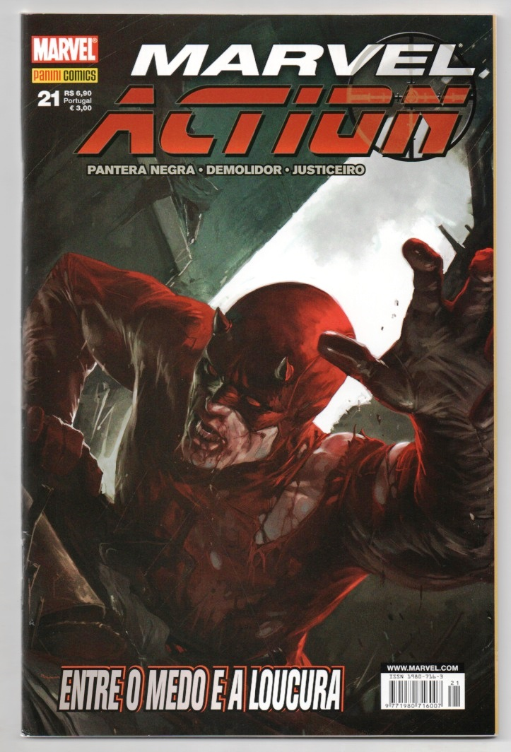 MARVEL ACTION nº021 - EDITORA PANINI