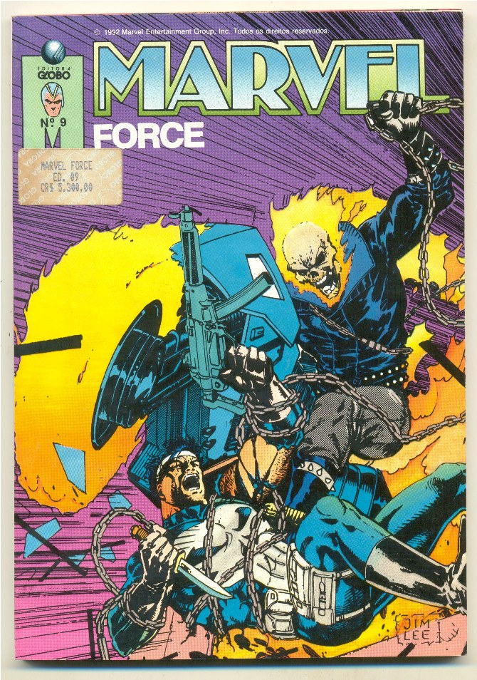 MARVEL FORCE nº09 - ED. GLOBO