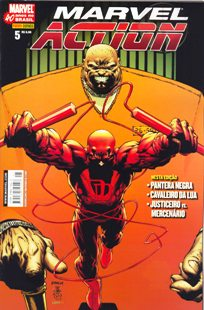 MARVEL ACTION nº005 - EDITORA PANINI