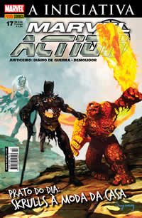 MARVEL ACTION nº017 - EDITORA PANINI