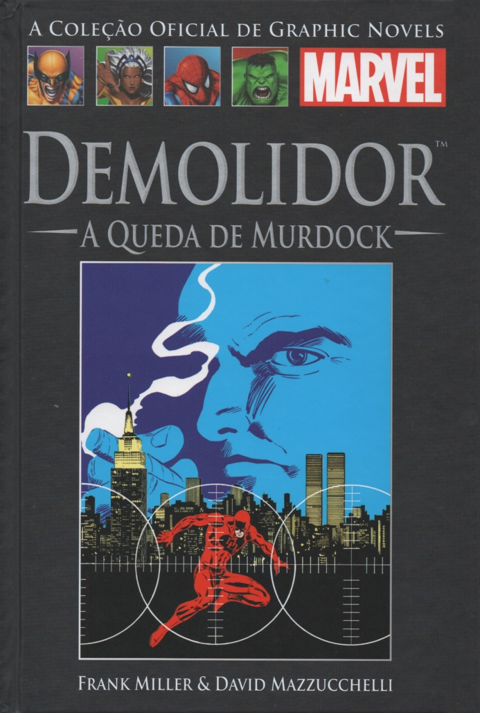 GRAPHIC NOVELS MARVEL nº08 - DEMOLIDOR - QUEDA DE MURDOCK - SALV