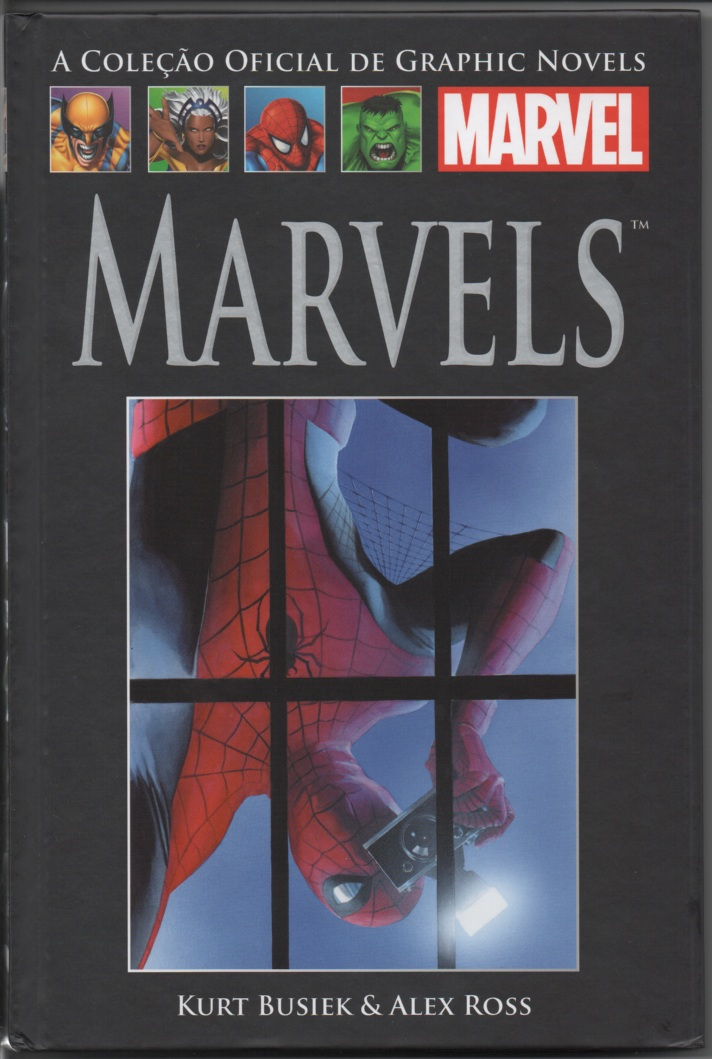 GRAPHIC NOVELS MARVEL nº13 - MARVELS - ED. SALVAT