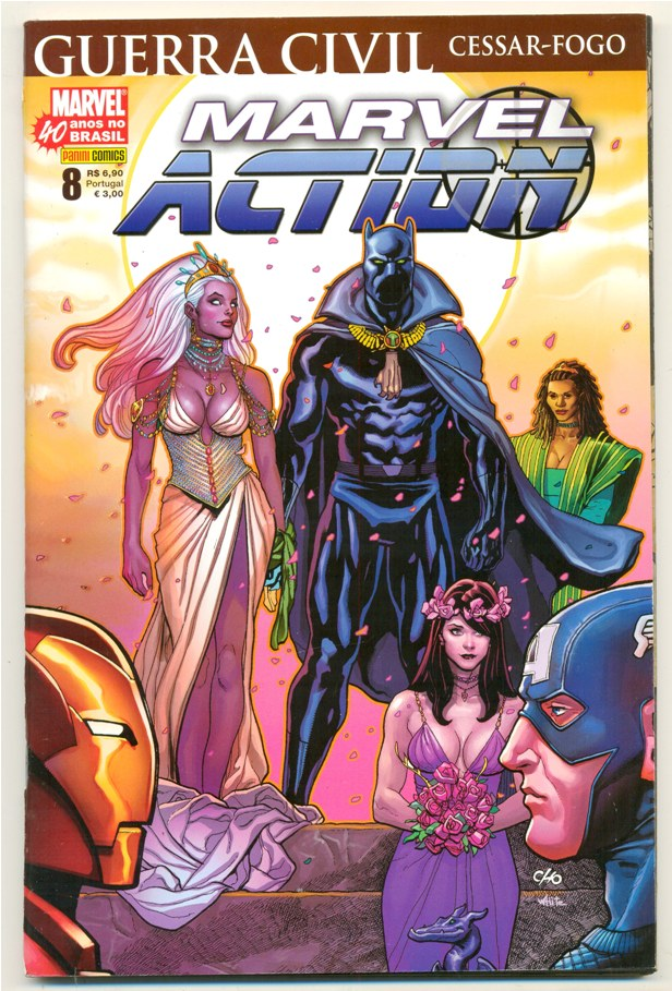 MARVEL ACTION nº008 - EDITORA PANINI